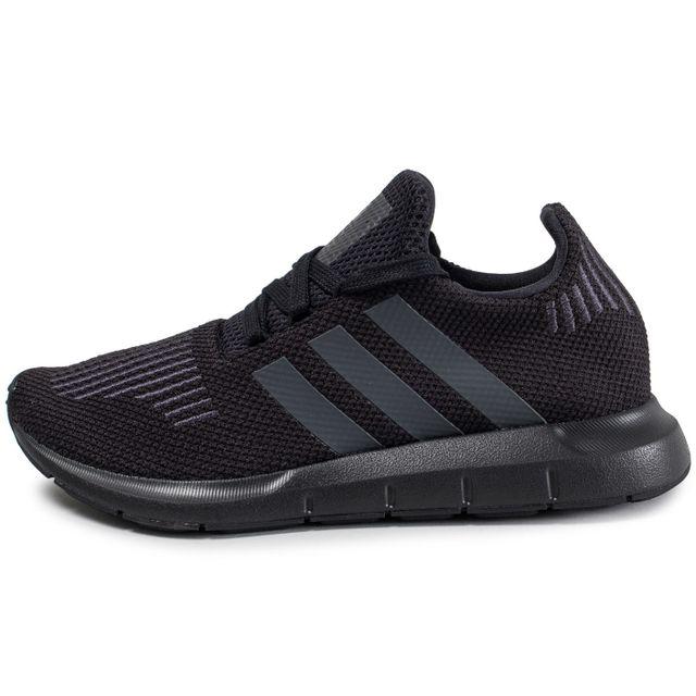 Adidas originals Swift Run Junior Noire pas cher Achat