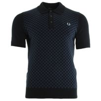 Fredperry - Tonal Knitted Shirt Navy