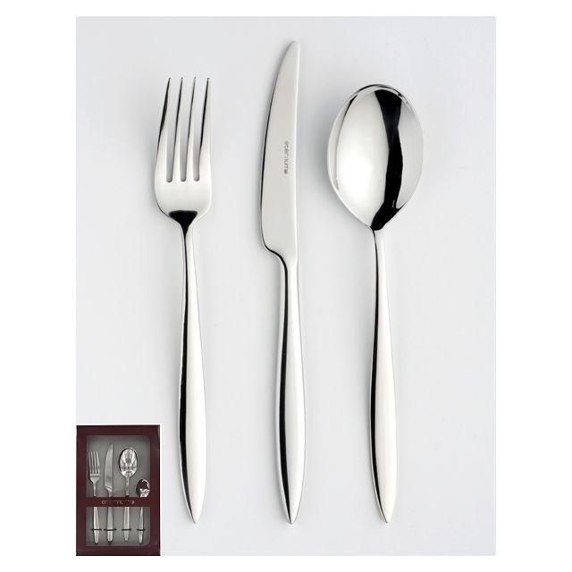 Eternum Modèle Sonate - acier inoxydable 18/10 - finition miroir - épaisseur 3 mm - garantie lave-vaisselle