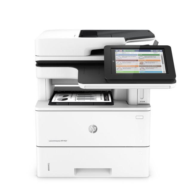 Hp LaserJet Enterprise Flow Mfp M527c - Imprimante multifonctions - Noir et blanc - laser - Legal 21