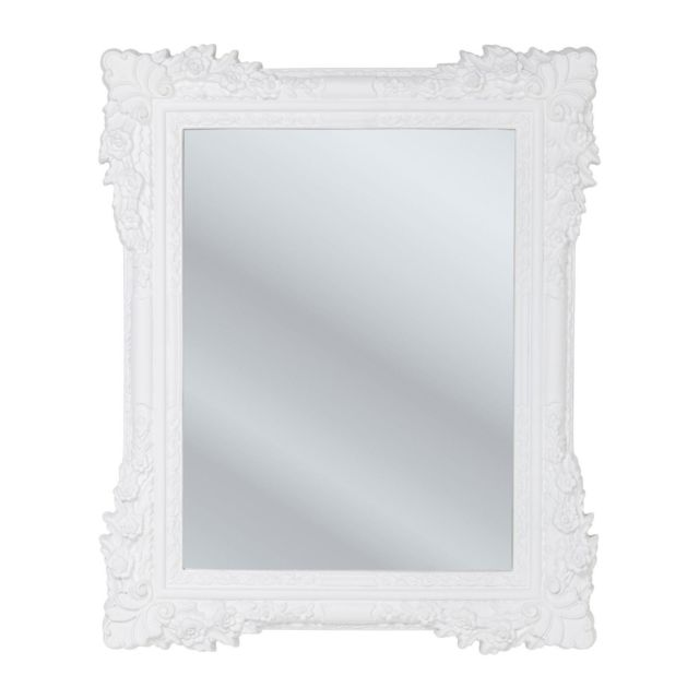 Karedesign Miroir Fiore blanc 89x109cm Kare Design
