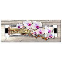 Declina - Tableau zen nature orchidées sur toile - Boutique déco en ligne