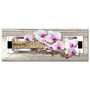 declina tableau zen nature orchid es sur toile. Black Bedroom Furniture Sets. Home Design Ideas