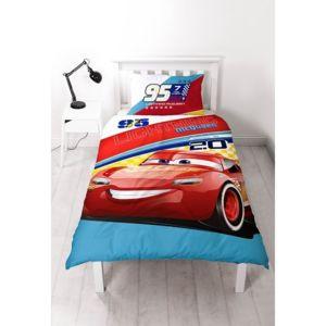 cars parure de lit lightning disney multicolore 140cm x 200cm pas cher achat vente. Black Bedroom Furniture Sets. Home Design Ideas