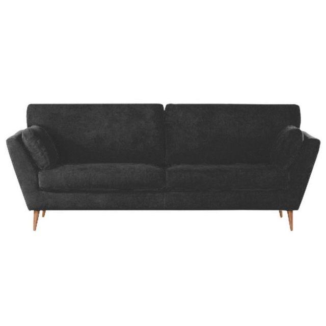 Meubler Design Canapé scandinave style nordique design - Noir