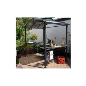 leco abri de barbecue en aluminium et polycarbonate pas cher achat vente pergola. Black Bedroom Furniture Sets. Home Design Ideas