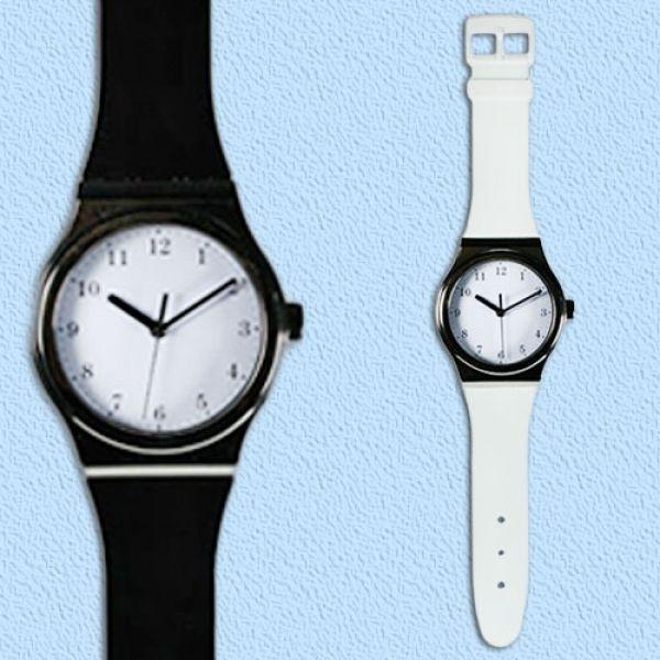 Totalcadeau Horloge Murale En Forme De Montre Blanc Pas Cher