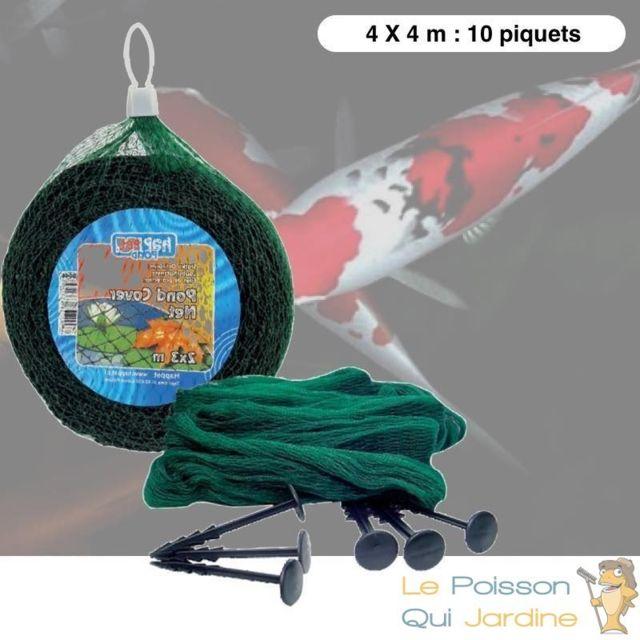 Le Poisson Qui Jardine Filet 4x4 Anti Héron Et Anti Feuilles Pour Bassins De Jardin Et Étangs