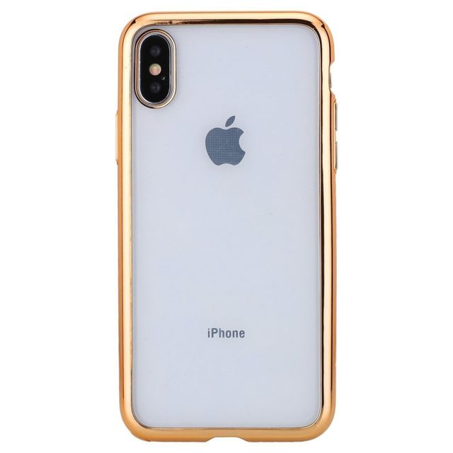 coque doré iphone x