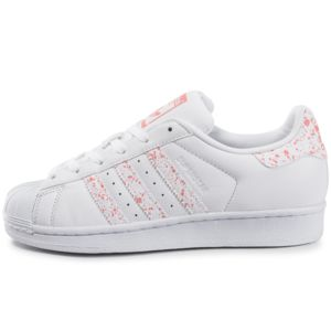adidas originals superstar speckle blanche et rose pas cher achat vente baskets femme. Black Bedroom Furniture Sets. Home Design Ideas