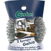 Gerlon - Eponge galva désincrustation x2