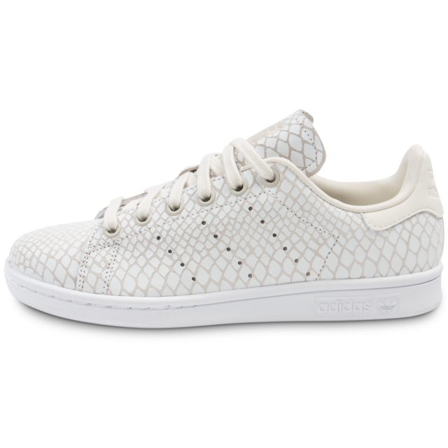 Adidas originals - Stan Smith Snake Blanche - Tennis Femme ...