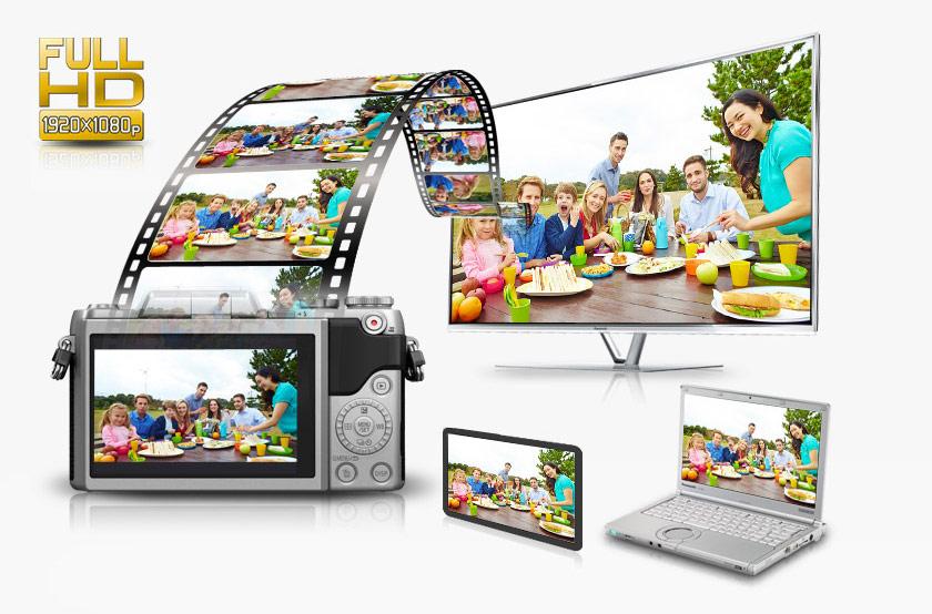Panasonic lumix dmc gf7 argent pas cher achat vente for Mp4 qui fait appareil photo