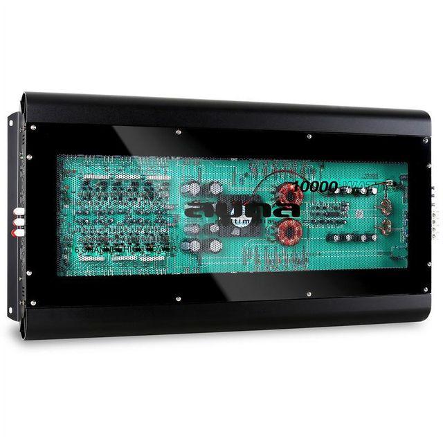 AUNA W1-F-10000 Ampli de voiture bridgeable 6 canaux 10000W max