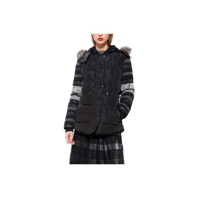Veste manteau desigual femme