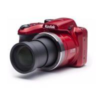 Kodak - Az365 Appareil photo numérique Bridge - 16 mégapixels - Grand angle 24 mm - Rouge