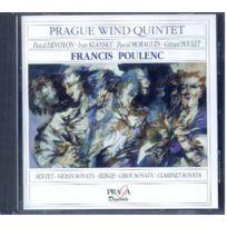 Praga Digitals - Francis Poulenc - Sextuor, Sonate pour violon et piano, Elegie, son. pour vents Devoyon; Klansky; Poulet; Quint. à vents de Prague