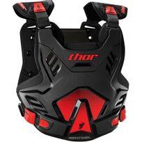 Marque Generique - Pare-pierre Moto Cross Sentinel Gp Protector Thor-xl / 2XL -noir Rouge-2701-0753