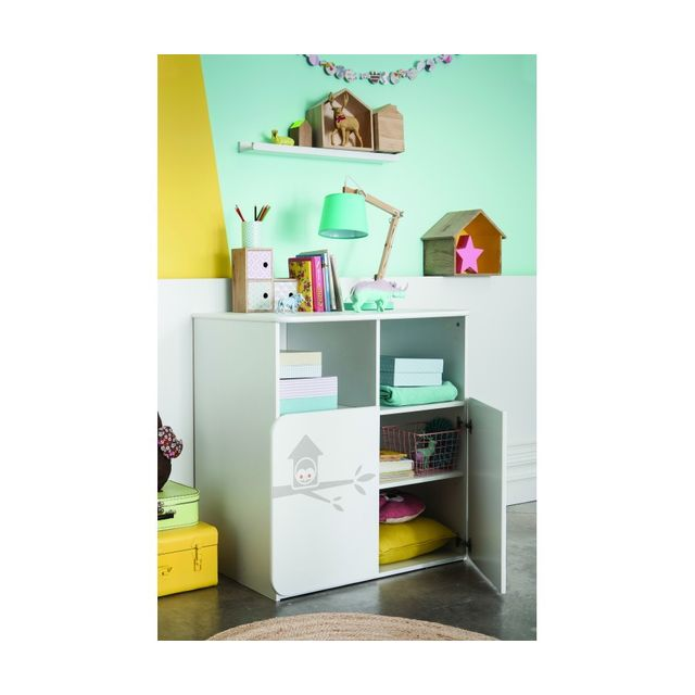 rocambolesk commode table langer hiboux pas cher. Black Bedroom Furniture Sets. Home Design Ideas