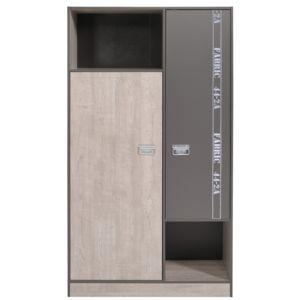 Last Meubles - Armoire 2 portes 2 niches Facty