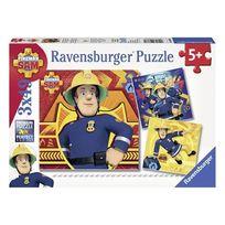 Ravensburger - Sam le Pompier - Puzzle 3x49p Sam le pompier