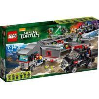 Lego - Teenage Mutant Ninja Turtles - 79116 - Jeu De Construction - L'évasion En Camion