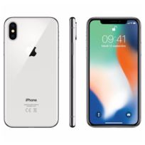 APPLE - iPhone X - 64 Go - MQAD2ZD/A - Argent