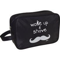 Incidence - Trousse De Toilette Rectangulaire Pour Homme - Wake up & shave