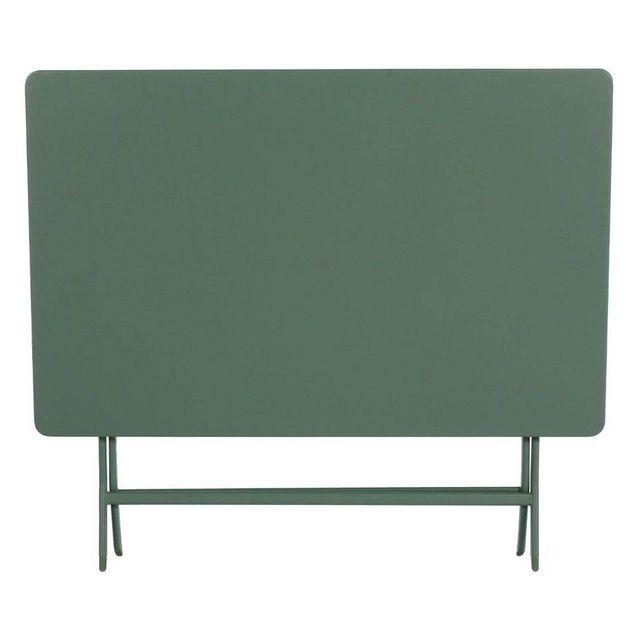kaki 110x70cm Greensboro Table rectangulaire Hespéride lJTFK1c