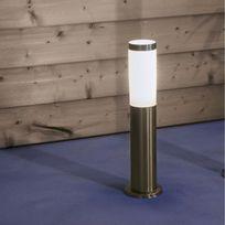 Brilliant - Chorus - Borne d'extérieur Inox H50cm - Luminaire d'extérieur designé par