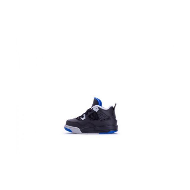 free shipping 123cd 53231 Nike - Basket Air Jordan 4 Retro Td Bébé - Ref. 308500-006 - pas cher Achat    Vente Baskets enfant - RueDuCommerce