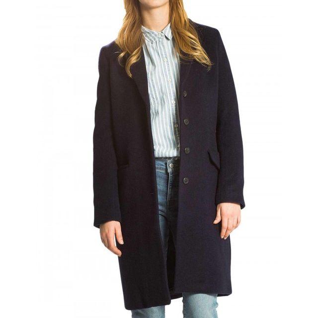 Levi S - Manteau Long Wool - pas cher Achat   Vente Blouson femme -  RueDuCommerce 3f3b635f9453