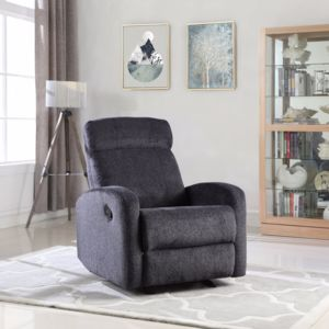 BHD Laure Fauteuil Relaxation Manuel Tissu Coloris - Fauteuil relax tissu