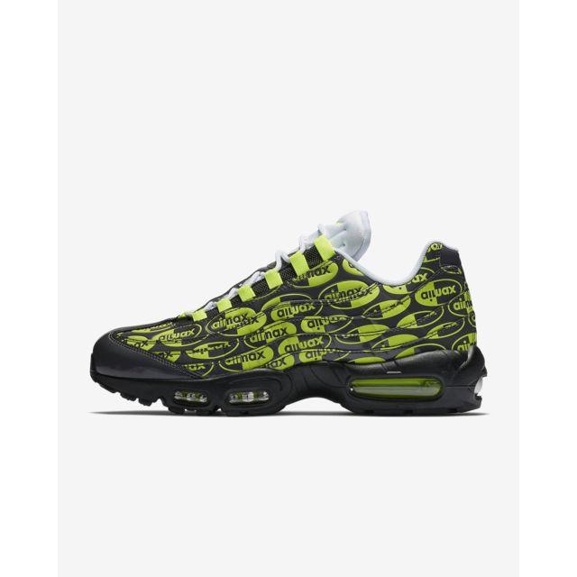 official photos 8e878 2b554 Nike - Air Max 95 Prm - 538416-019 - Age - Adulte, Couleur - Noir, Genre -  Homme, Taille - 40,5 - pas cher Achat / Vente Chaussures basket -  RueDuCommerce
