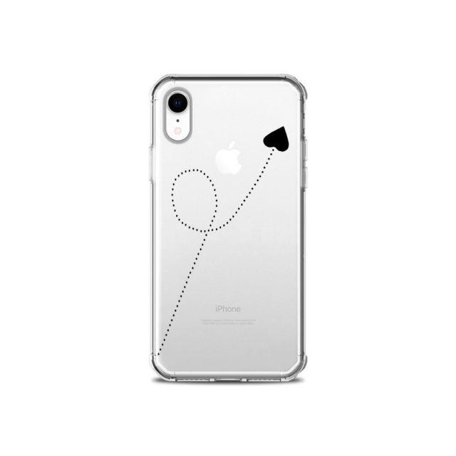 coque iphone xr noire souple