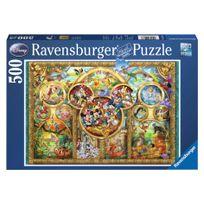 RAVENSBURGER - Puzzle Famille Disney 500p - 14183