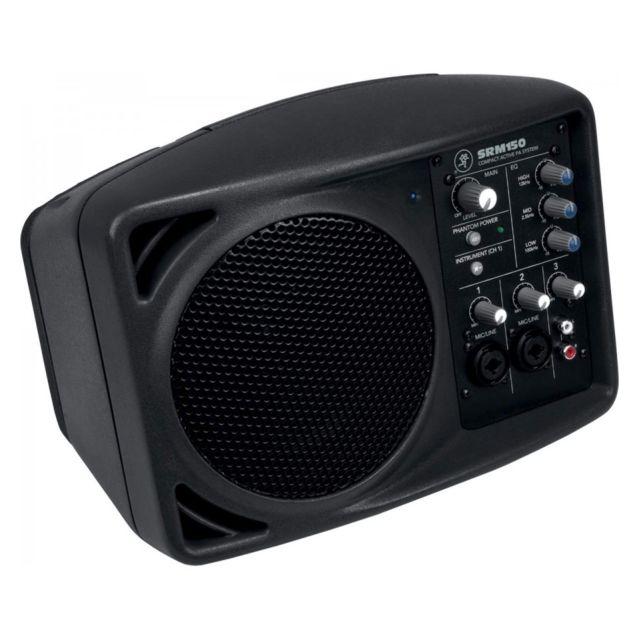 Mackie Srm150 - Enceinte sono portable 150 watts La Srm150 associe les technologies Mackie éprouvées en matière de table de mixage et d'enceintes actives Srm pour créer une puissante sonorisation 3 canaux ultra compacte