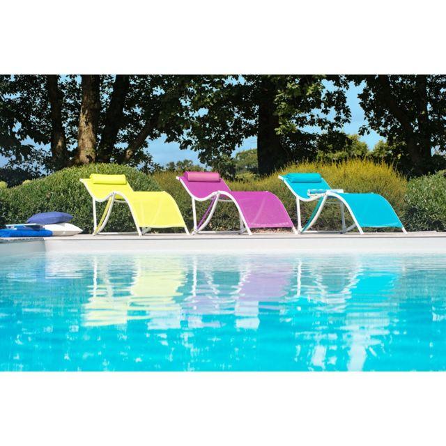 bain de soleil orlando bleu pas cher achat vente. Black Bedroom Furniture Sets. Home Design Ideas