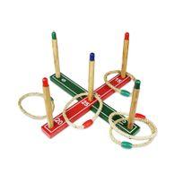 Pokeo - Lancer d'anneaux en bois de pin