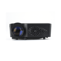 Auto-hightech - Mini vidéo Projecteur Projections 45 à 125 pouces, Hdmi, Vga, Av, Carte Sd