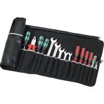 Parat - Pochette à outils à enrouler Basic, Dimensions extérieures : 550 x 315 mm, Nombre de poches d'insertion 12, Poids 260 g