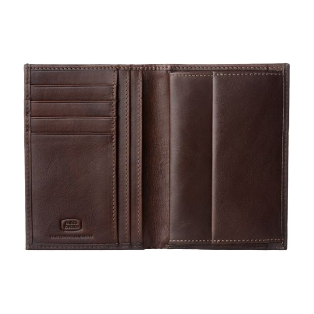 560ccc0186c2 Antica Toscana - Antica Toscana Portefeuille pour Homme avec Porte-monnaie  format vertical en Cuir