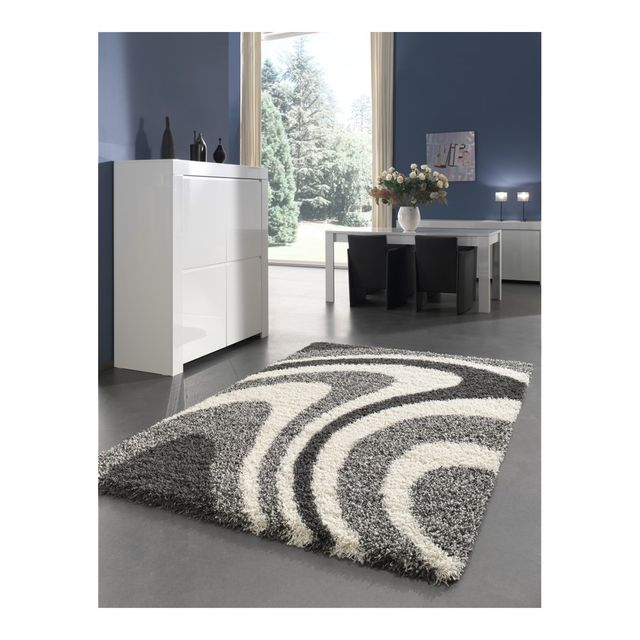 tapis design gris. Black Bedroom Furniture Sets. Home Design Ideas