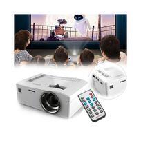 Auto-hightech - Mini Projecteur Lcd - 320 x 180, 48 Lumens, Télécommande