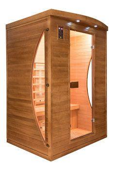 france sauna sauna infrarouge spectra 2 places pas cher achat vente saunas chaleur. Black Bedroom Furniture Sets. Home Design Ideas