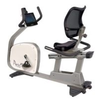 Tunturi - Vélo semi-allongé Pure Recumbent Bike R10.0