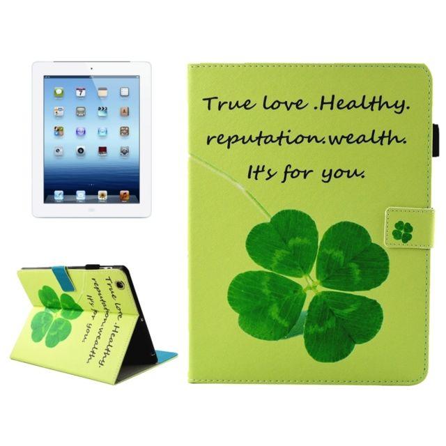 prix imbattable Promotion de ventes amazon Wewoo - Smart Cover pour iPad 4/3/2 Etui à rabat en cuir ...