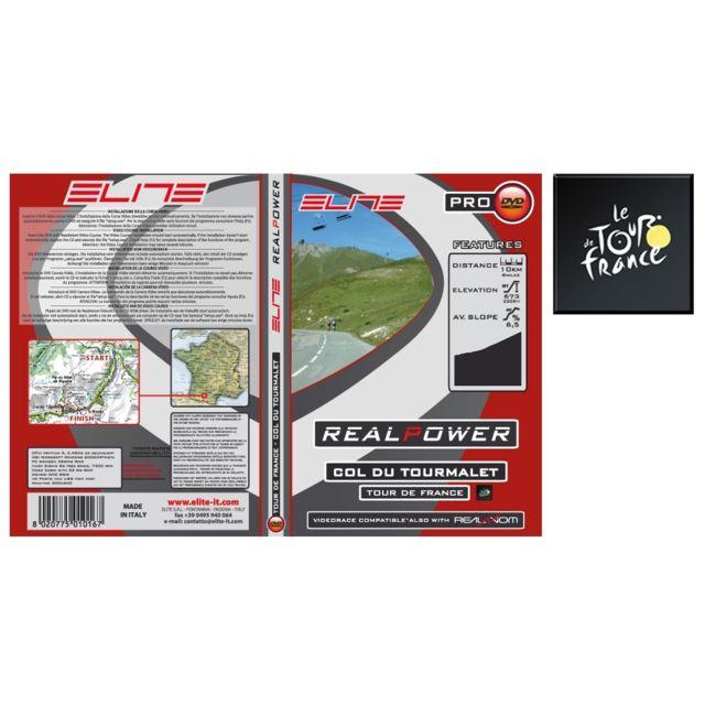 ELITE MODEL - Elite Dvd Col Du Tourmalet Real Axiom / Real Power