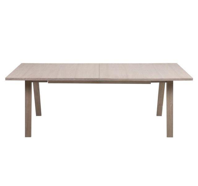 Kaligrafik Table à manger extensible en bois massif A-line