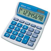 IBico - Calculatrice de bureau 208X - écran Lcd 8 chiffres